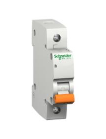 12480 - Disjoncteur logement 1P 10A courbe C 4500 A , Schneider Electric