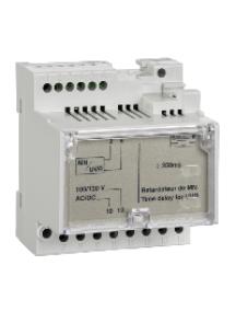Masterpact NT 33684 - Compact NS - relais temporisé non réglable - pr déclen. volt. MN - 100/130Vca/cc , Schneider Electric