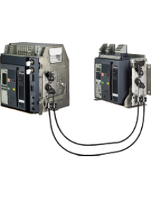 Masterpact NT 33912 - Compact NS - interverrouillage à tringle - pour NT06..16 fixe , Schneider Electric