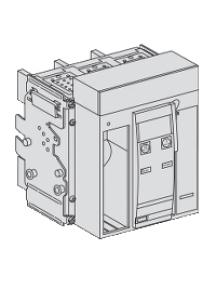 Masterpact NT 47222 - bloc de coupure Masterpact NT10L1 1000 A 3P débrochable , Schneider Electric