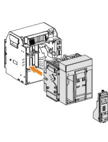 Masterpact NT 47231 - Masterpact NT12H2 - bloc de coupure - 1250A - 3P - débrochable , Schneider Electric