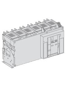 Masterpact NW 48108 - Masterpact NW40bHA - interrupteur - 3P - 4000A - 690V - fixe , Schneider Electric