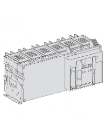 Masterpact NW 48118 - Masterpact NW63H1 - bloc de coupure - 6300A - 3P - fixe , Schneider Electric