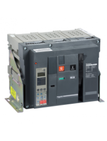 Masterpact NW 48273 - Masterpact NW16H1 - bloc de coupure - 1600A - 3P - débrochable , Schneider Electric