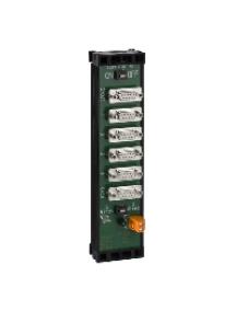 Masterpact NT 50963 - bloc de jonction RS485 6 connections + entrée répartition 24 VDC , Schneider Electric