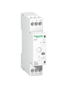 ICT A9C15031 - Acti9, iCT+ HC, contacteur silencieux à commande manuelle 1P 20A 230VCA , Schneider Electric
