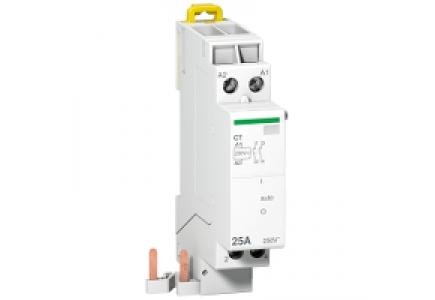 Clario A9C15180 - contacteur 25A 2P Uc 230V Ue 230VAC , Schneider Electric