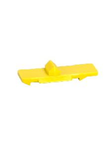 ICT A9C15415 - Acti9, 10 clips jaune de liaison entre contacteur/télérupteur et auxiliaires , Schneider Electric