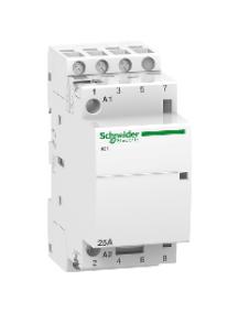 ICT A9C20633 - iCT 25A 3NO 220...240V 60Hz contactor , Schneider Electric