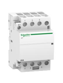 ICT A9C20643 - iCT 40A 3NO 220...240V 60Hz contactor , Schneider Electric