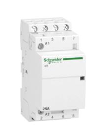 ICT A9C20834 - contacteur iCT - 2 pôles - 2 NO - 25 A - 220..240 V AC , Schneider Electric