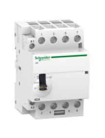 ICT A9C21144 - Acti9, iCT contacteur à commande manuelle 40A 4NO 24VCA 50Hz , Schneider Electric
