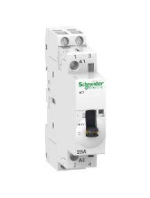 ICT A9C21532 - iCT 25A 2NO 220V 50Hz MO contact , Schneider Electric