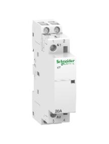 ICT A9C22722 - Acti9, iCT contacteur 20A 2NO 230...240VCA 50Hz , Schneider Electric