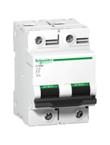 C120 A9N18345 - Disjoncteur C120N 2P 80 A, courbe B, 10 kA , Schneider Electric