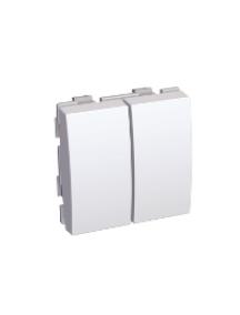 Altira ALB45026 - Altira - interrupteur double va-et-vient 20 A - blanc , Schneider Electric