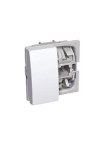 Altira ALB45078 - Altira - interrupteur va-et-vient + socle balis - blanc , Schneider Electric