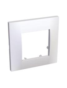Altira ALB45650 - Altira - plaque blanc 9010 - 1 poste , Schneider Electric