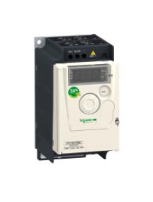 Altivar 12 ATV12H037F1 - Altivar ATV12 - variateur de vit. - 0,37kW 0,55CV - 100..120V - 1ph - radiateur , Schneider Electric