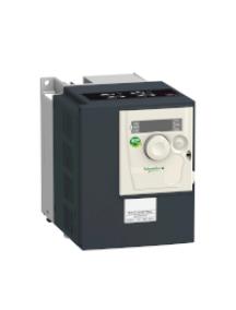 Altivar 312 ATV312H055N4 - Altivar ATV312 - variateur de vit. - 0,55kW - 1,8kVA - 37W - 380..500V - triph. , Schneider Electric