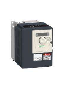 Altivar 312 ATV312H075N4 - Altivar ATV312 - variateur de vit. - 0,75kW - 2,4kVA - 41W - 380..500V - triph. , Schneider Electric