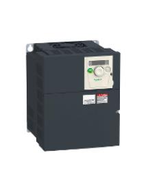Altivar 312 ATV312HU55M3 - Altivar ATV312 - variateur de vit. - 5,5kW - 12,8kVA - 292W - 200..240V- triph. , Schneider Electric