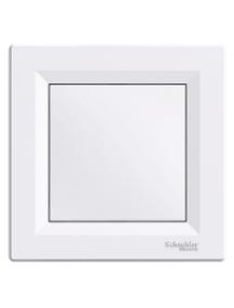 EPH5600121 - Asfora - blind cover - white , Schneider Electric