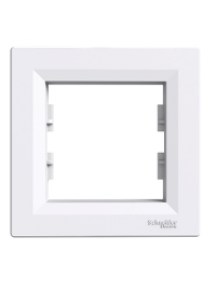 EPH5800121 - Asfora - 1-gang frame - white , Schneider Electric