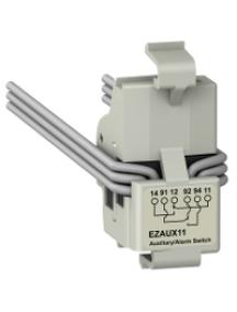 EZC100 EZAUX11 - contact auxiliaire - 1 OF + 1 SD , Schneider Electric