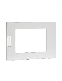 FAS-03 - Fascia for SE8300 room controller - glossy translucent white finish , Schneider Electric