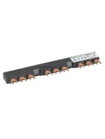TeSys D GV2G354 - TeSys GV - jeu de barre tripolaire - 63A - 3 dérivations - pas 54 mm , Schneider Electric