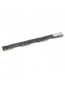 TeSys K GV2G472 - TeSys GV - jeu de barre tripolaire - 63A - 4 dérivations - pas 72 mm , Schneider Electric