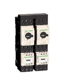 TeSys D GV3G264 - JEUX DE BARRES 2 DEPARTS GV3 , Schneider Electric