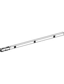 Canalis KBB25ED4303TW - Canalis KBB - élément droit 40A 3m blanc 3L+N+PE 3 fenêtres , Schneider Electric