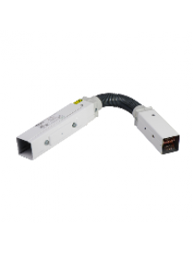 Canalis KBB40DF4420TW - Canalis KBB - élément flexible 40A 2m blanc 2x(3L+N)+PE - bus , Schneider Electric