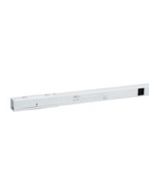 Canalis KBB40ED22305EW - Canalis KBB - élément droit 40A 2m blanc 2x(1L+N)+PE 5 fenêtres- 1 terre , Schneider Electric