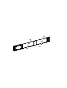 Canalis KNA40ED4301 - Canalis KNA - élément droit 40A 3m blanc 1 fenêtre , Schneider Electric
