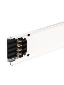 Canalis KNA63ED4301 - Canalis KNA - élément droit 63A 3m blanc 1 fenêtre , Schneider Electric