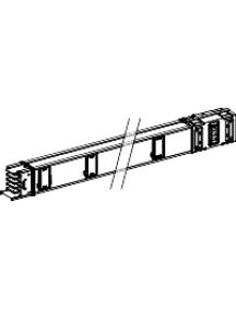 Canalis KSA1000ED4206 - Canalis - tronçon droit - 1000A - 2m - 6 sorties de dérivation , Schneider Electric