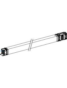 Canalis KSA1000ET430 - Canalis - élément droit de transport - 1000 A - 3 m - , Schneider Electric