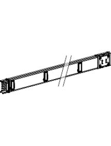 Canalis KSA250ED4156 - Canalis KSA - élément droit 250A 1,5m - 6 fenêtres , Schneider Electric