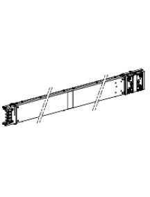 Canalis KSA250ET4AF - Canalis - élément droit spécial avec coupe feu - 250 A - 900 to 2200 mm , Schneider Electric