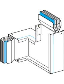 Canalis KTA1600CP32 - KT 3X1600AL ZED CHANT PLAT N2 , Schneider Electric