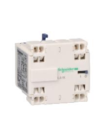 TeSys K LA1KN113 - TeSys CA - bloc de contacts auxiliaires - 1F+1O - bornes à ressort , Schneider Electric