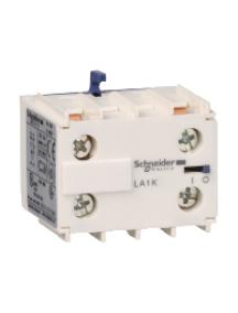 TeSys K LA1KN11M - TeSys CA - bloc de contacts auxiliaires - 1F+1O - bornes à vis-étriers , Schneider Electric