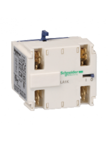 TeSys K LA1KN207 - TeSys CA - bloc de contacts auxiliaires - 2F+0O - cosses Faston , Schneider Electric