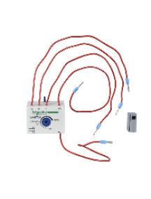 TeSys K LA2KT2U - TeSys CA - bloc de contacts auxiliaires - 1F+1O - précâblé , Schneider Electric