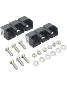 TeSys D LA9D115503 - TeSys LA9D - bloc de connexion - pour 3 pôles TeSys LC1D1156 - lot de 2 , Schneider Electric