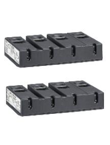 TeSys D LA9D115604 - TeSys LA9D - bloc de connexion - pour 4 pôles TeSys LC1D115 - lot de 2 , Schneider Electric