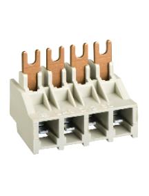 TeSys D LA9D1260 - TeSys LA9D - bloc de connexion pr 4 pôles TeSys LC1D09, LC1D12, LC1DT20, LC1DT25 , Schneider Electric